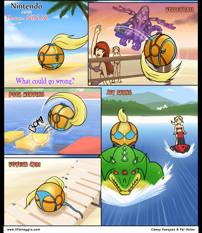 Samus: Beach Volleyball